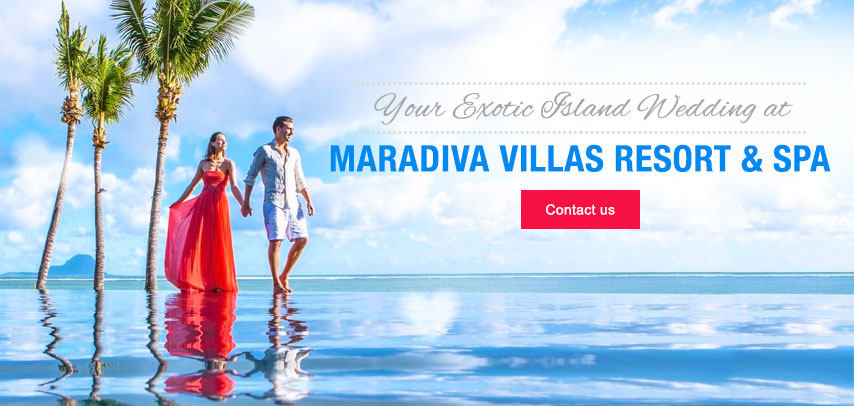 Wedding at Maradiva Villas Resort & Spa