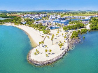 Life in Blue: Azuri Beach Resort Mauritius  Hotel Image